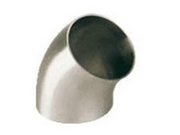 45 deg short welded elbow