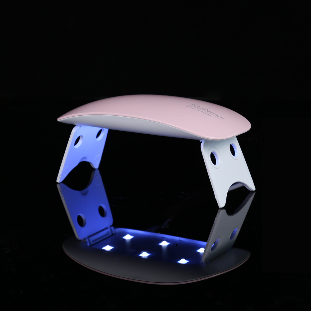 Factory Price Rechargeable Mini UV Nail Lamp Portable Led Nail Lamp