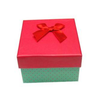 Hight quality factory supply custom paper gift box gift box with ribbon