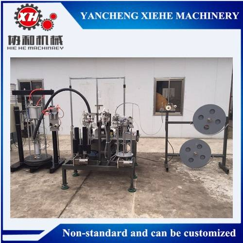 Good quality Full-automatic flap disc making machine