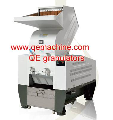 2016 hot sale granule machine waste plastic/rubber recycle granulator QE4050