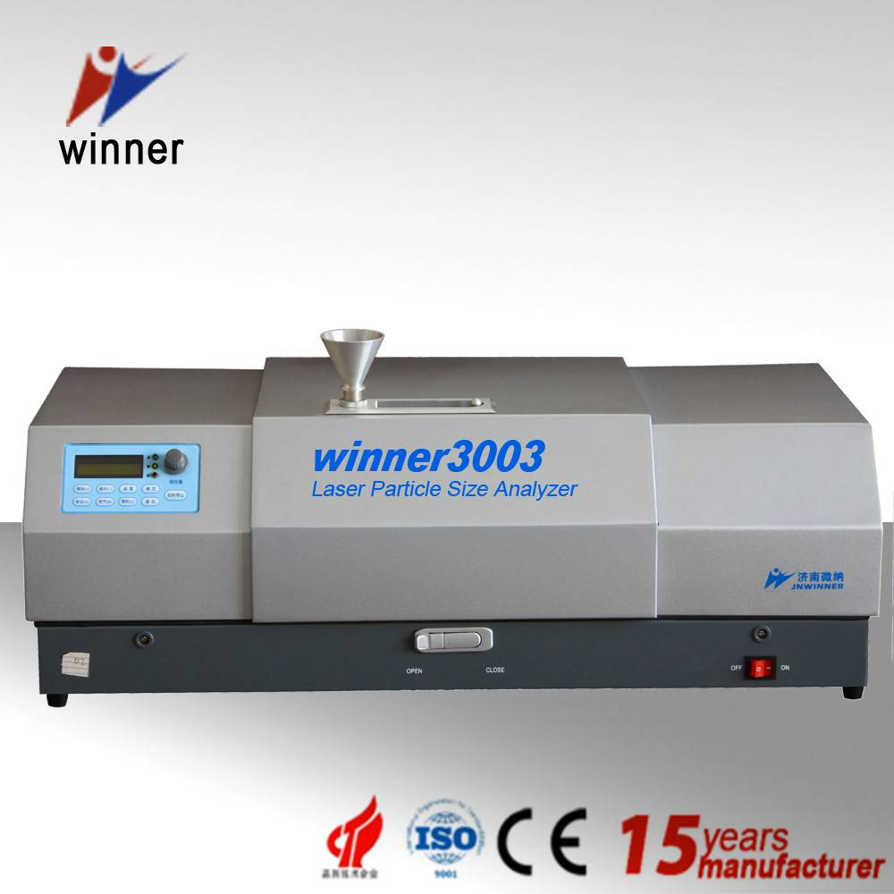 Winner3003 dry dispersion laser particle size analyzer for pharmacy materials