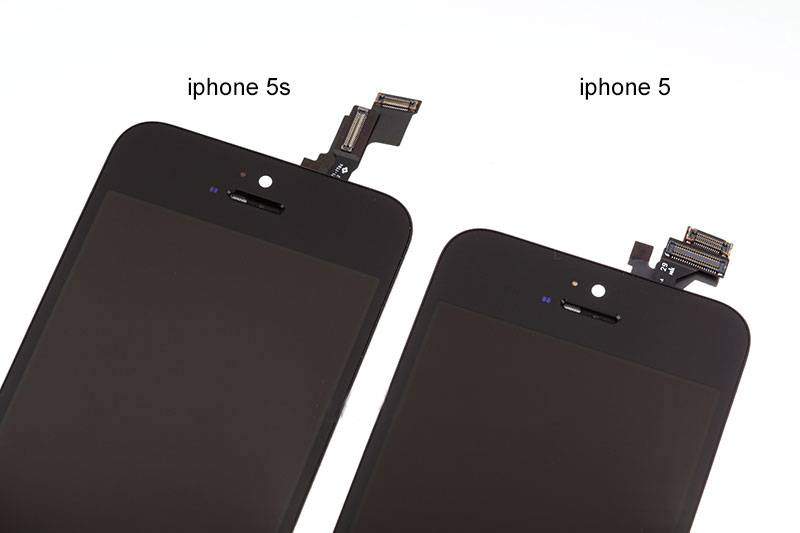 hot product black LCD screen for iPhone 5S