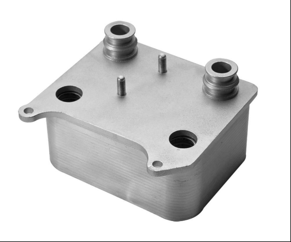 car engine aluminum oil cooler for FORD  OEM 3C3Z-6A642-CA