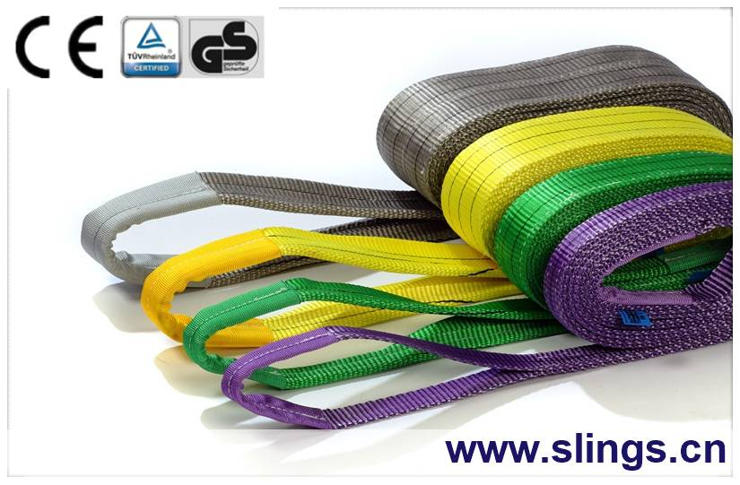 eye type webbing sling