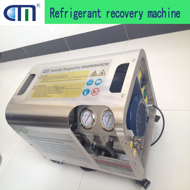 R600/R600A/R290 refrigerant recovery pump CMEP-OL oil less explosion proof pump