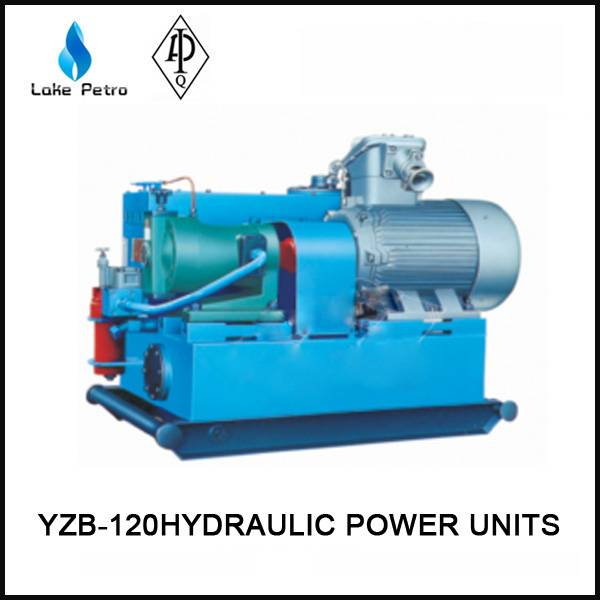 API YZB-120 Hydraulic power unit used in oilfield