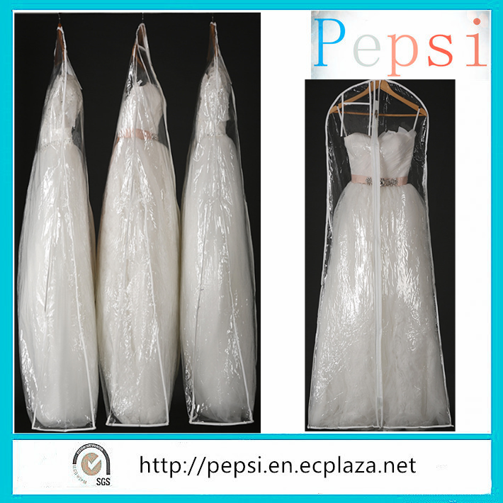Wholesale PEVA Bridal Cover/Wedding Dress Covers/Large Cloth Wedding