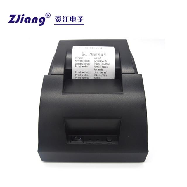 Zijiang Printer Shenzhen POS Driver 5890C Direct Thermal