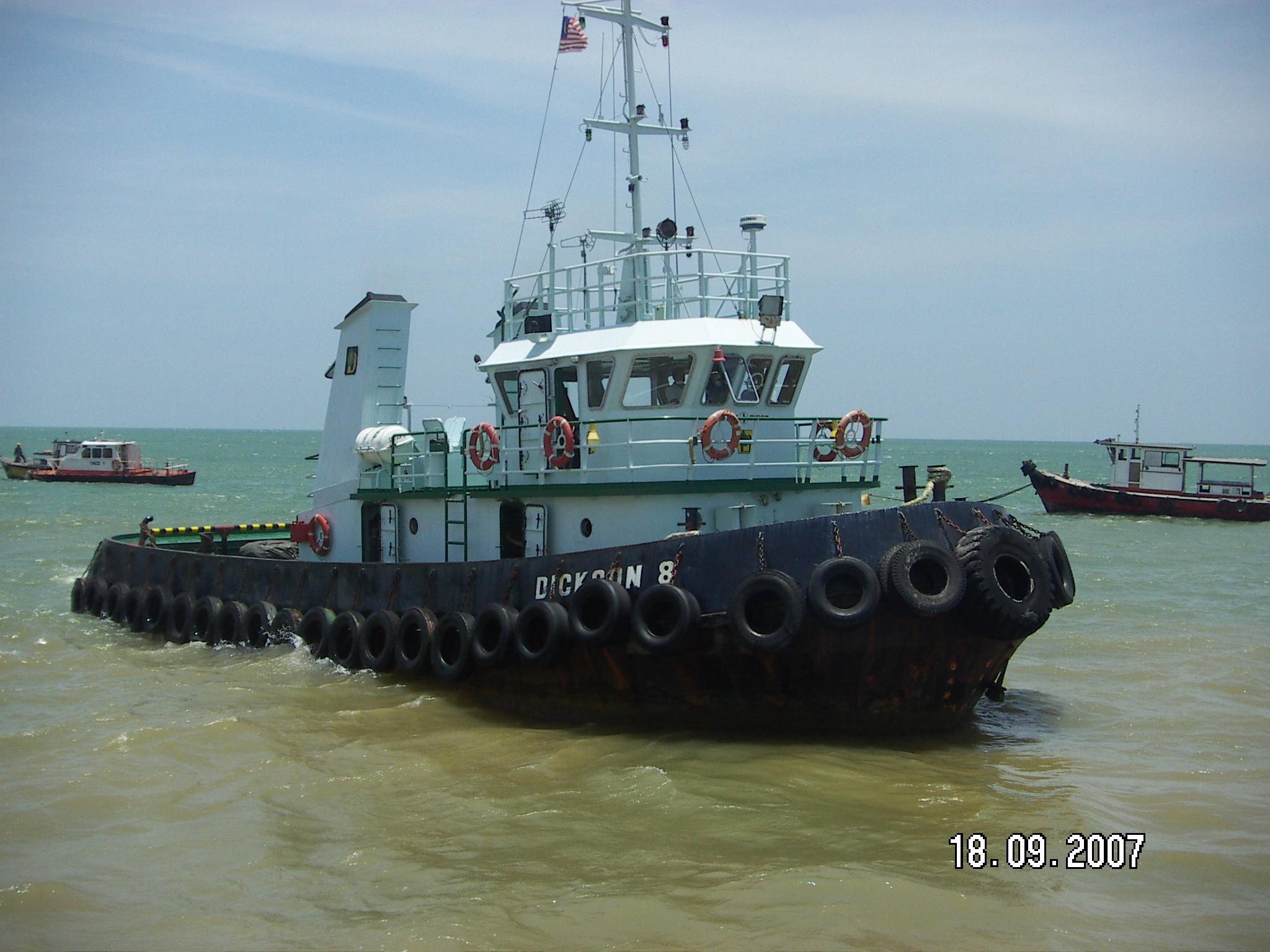 Escort tug service Malaysia