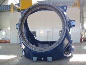 ductile iron casting (hub)