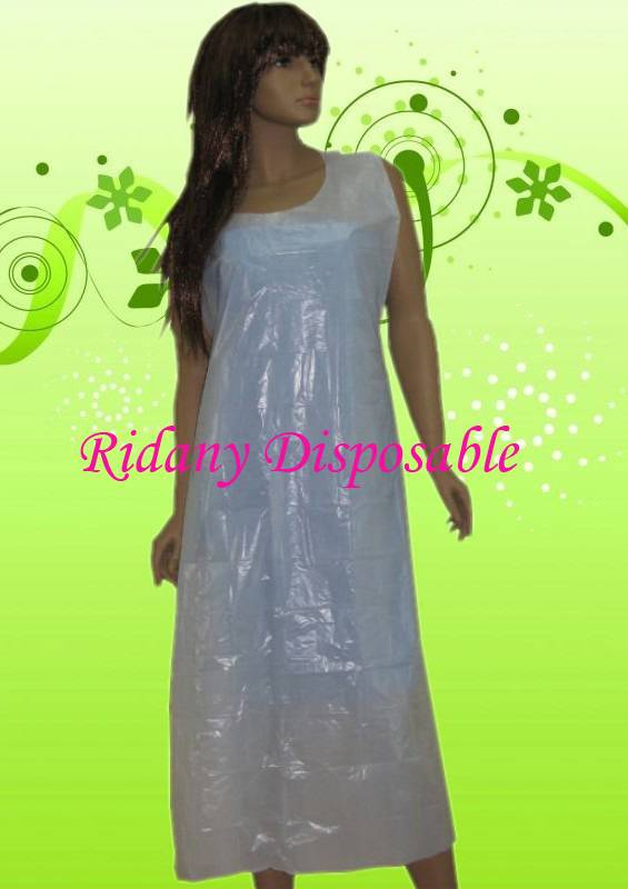 Polyethylene Medical Apron,Disposable Plastic Apron,PE Apron,Single use apron,Hair Dyeing Apron