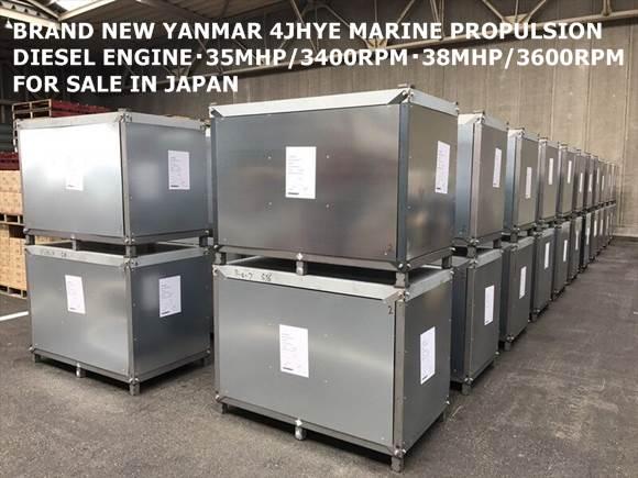 BRAND NEW YANMAR MARINE PROPULSION DIESEL ENGINE MODEL 4JHYE