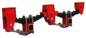 2 axle Mechanical Suspension for Semi Trailer