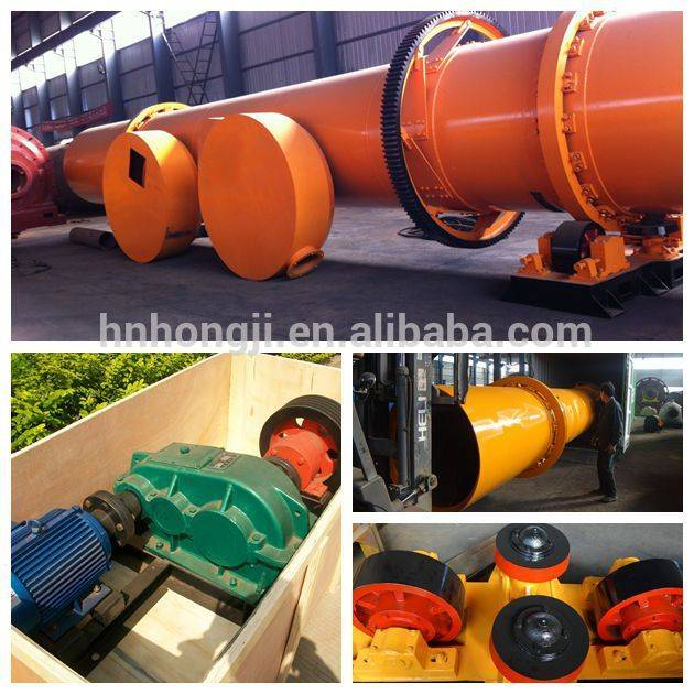 Rotary Dryer for wet material