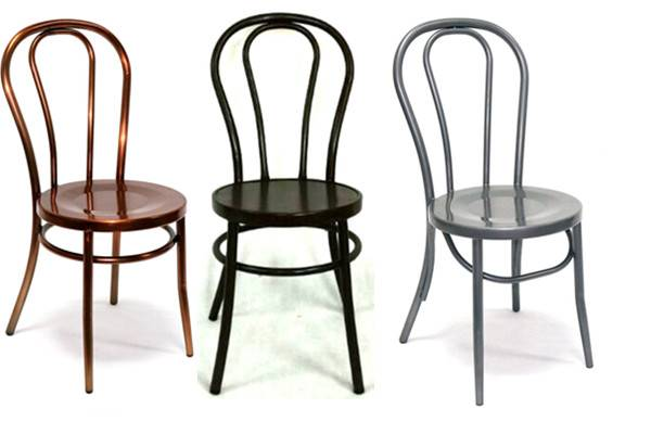 Wholesale thonet metal dining chair