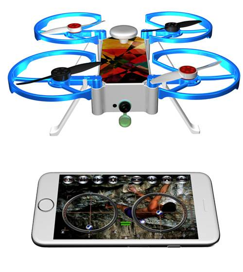 2016 Best product gps quadcopter rc camera drone with hd camera