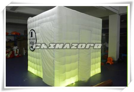 Great shape inflatable photo booth for sale
