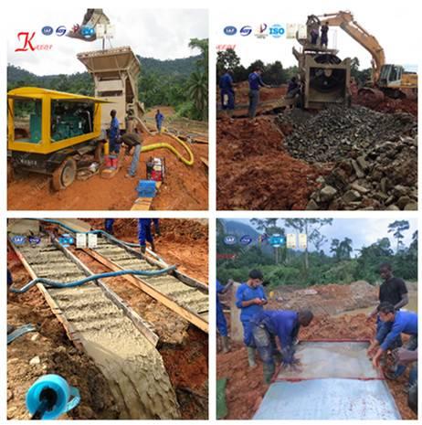 Alluvial Gold Ore Equipment/Production Line