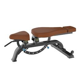Commercial gym equipment adjustment bench
