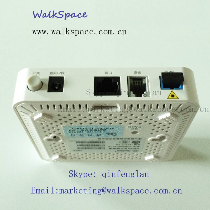 Original FiberHome GPON ONU, One GE Port & one Voice Interface Optical Network Terminal AN5506-01-B