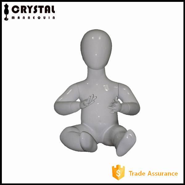 cute fiberglass baby mannequin for sale