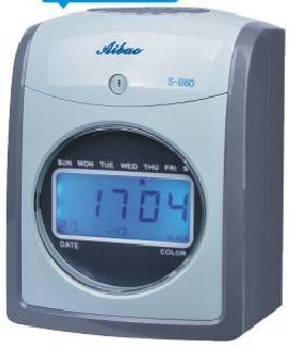 2014  Attendance time recorder S-860