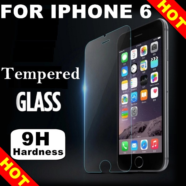 0.33mm Ultra HD Clear Tempered Glass Screen Protector For Iphone 6 6s