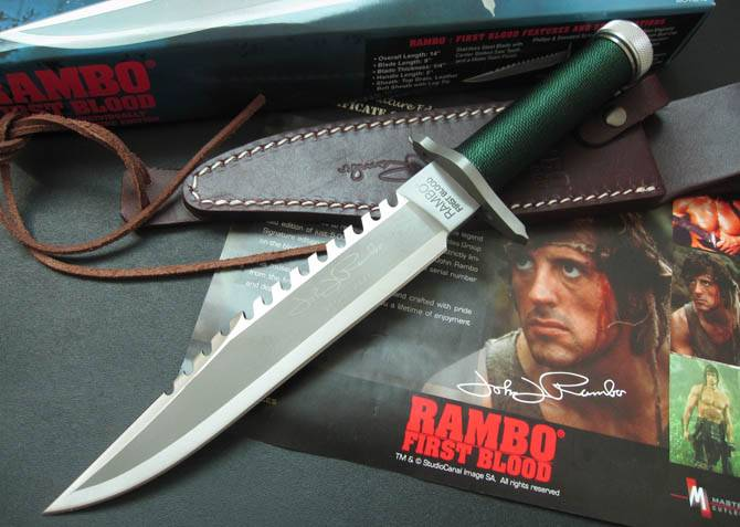 rambo survival knives,tactical fixed blade knives with survival kits hidden in handle