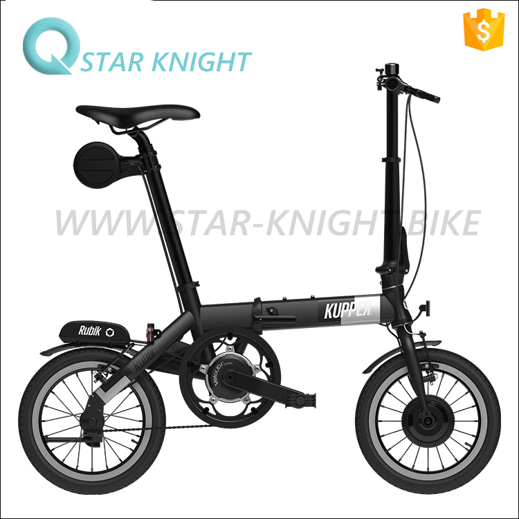Electric Bike 14kg Bicycle Bike 5.2 Ah Speed Student Pedelec