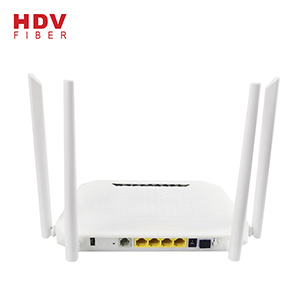 2.4G+5G Dual Frequency WIFI FTTH 4GE+4WIFI+1POTS+1USB AC WIFI GPON ONU With English Operation Interf