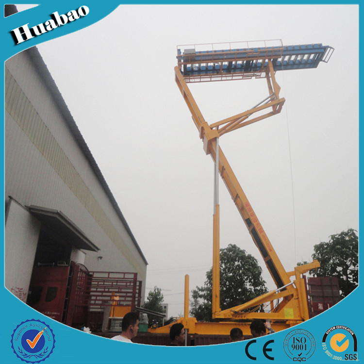 8T 16.5m high quality customized size small hydraulic lifting platform
