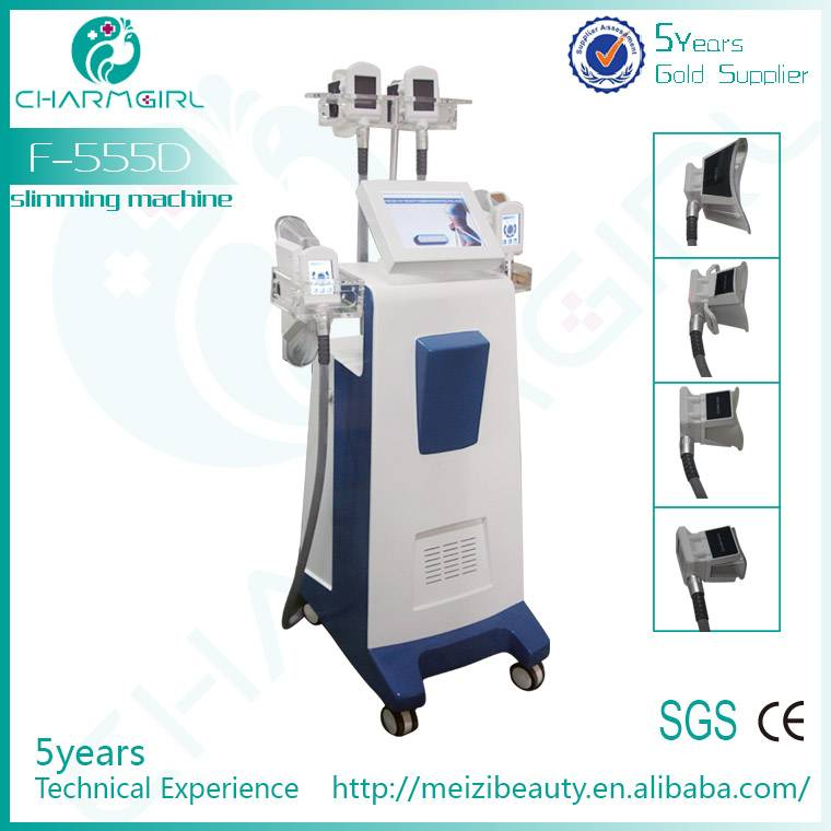 NEW ARRIVAL cryotherapy fat reducing machine/professional cryotherapy machine F-555D