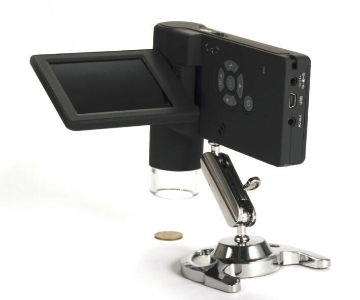 "3"" Handheld 500x 5M LCD Digital Microscope"
