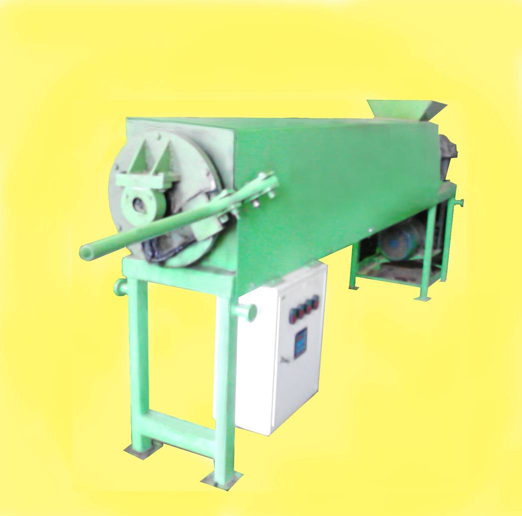 Plastic and sand Extruder