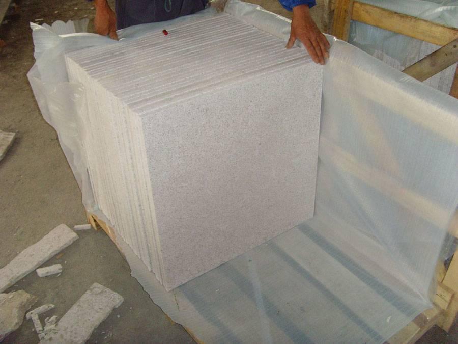 granite pearl white