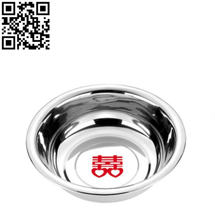 Stainless steel basin ZD-MP05