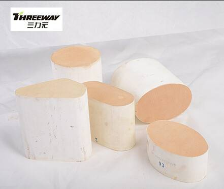 Cordierite honeycomb substrate with amiant  Euro3