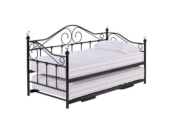 French Provincial Furniture , French Style metal day bed