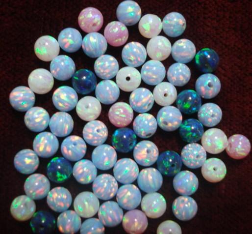 Opal stone beads