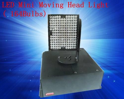 Disco Lighting LED Mini Moving Head Light 164Bulbs