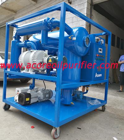 China Vacuum Transformer Oil Purifier