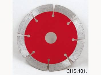 Diamond circular saw blade, hot pressed