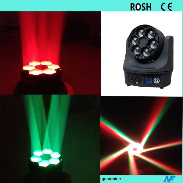 LED 6Eyes RGBW 4 in 1 moving head light