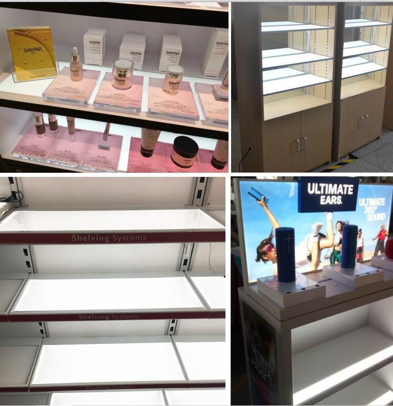 LRF Display Panel Retail Display Racks for Store