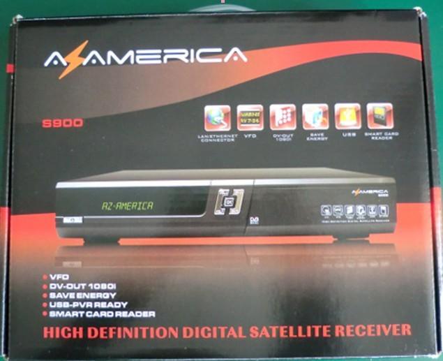 2013 the newest saltellite receiver az 900 HD