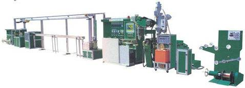 CE ISO9001 Auto Cable Sheathing Extruder Line