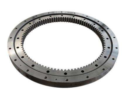 Excavator bearings and slewing bearings for construction crane