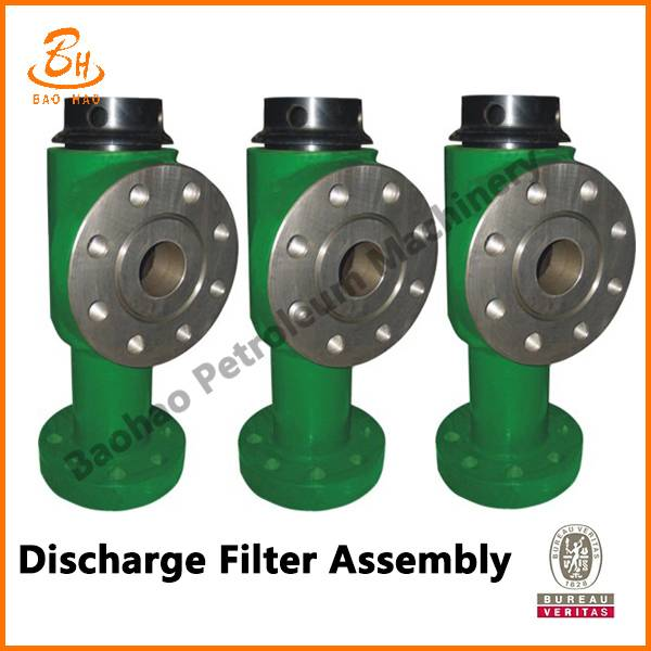 API Standard Discharge Filter Assembly For Mud Pump