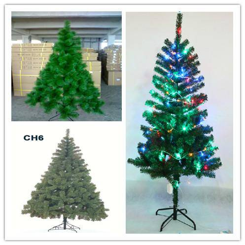 artificial christmas tree (with different styles for christmas decoration)